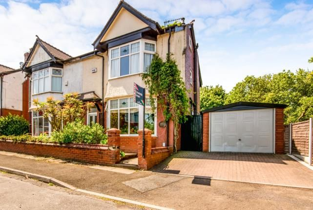 Thumbnail Semi-detached house for sale in Grange Road, Bolton, Greater Manchester