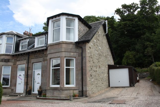 Thumbnail End terrace house for sale in 12 Crosshill Villas, Rothesay, Isle Of Bute