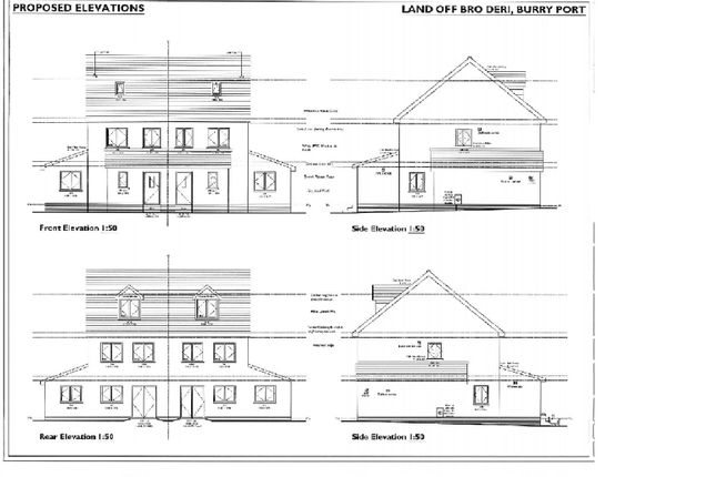 Thumbnail Semi-detached house for sale in Broderi, Burry Port, Llanelli