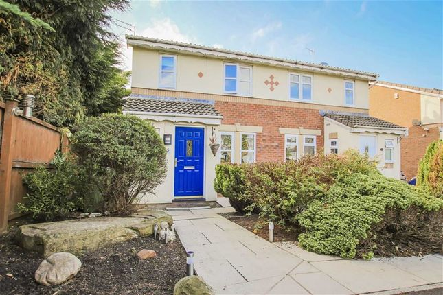 Thumbnail Semi-detached house for sale in Simmons Way, Clayton Le Moors, Lancashire