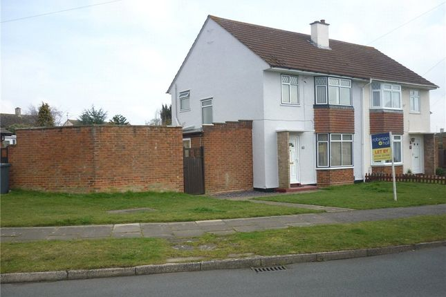 Thumbnail Semi-detached house to rent in Cody Road, Clapham, Bedford