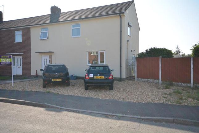 Thumbnail Semi-detached house to rent in Sidney Road, Neston