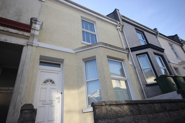 Thumbnail Terraced house to rent in Holdsworth Street, Plymouth