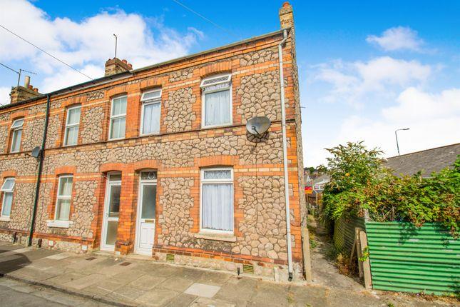 Thumbnail End terrace house for sale in Gwenllian Street, Barry