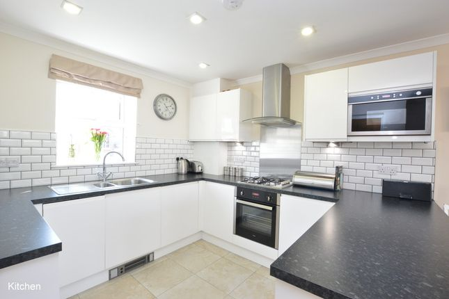 Thumbnail End terrace house for sale in Allingham Road, Reigate