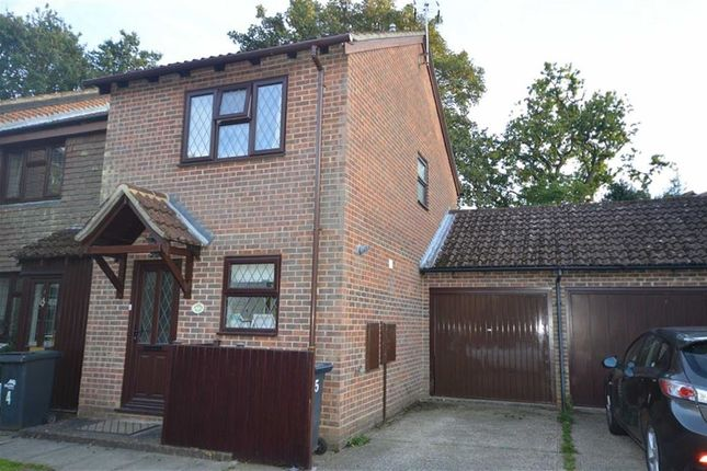 Thumbnail End terrace house to rent in Troy Close, Crowborough