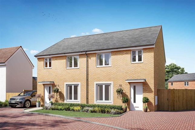 """Thumbnail Semi-detached house for sale in """"The Byford - Plot 251"""" at Lancaster Avenue, Maldon"""