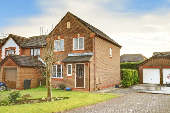 Thumbnail Detached house for sale in Mouldsworth Close, Kingsmead, Northwich
