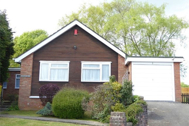 Thumbnail Detached bungalow for sale in St Maur Gardens, Welsh Street, Chepstow