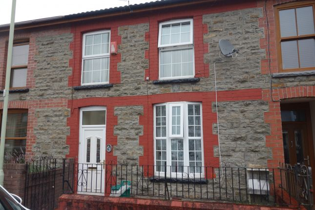 Thumbnail Terraced house to rent in Dyfodwg Street, Treorchy