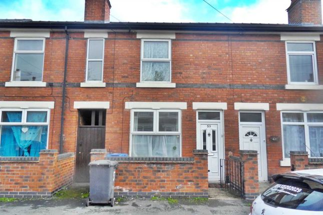 Thumbnail 2 bed terraced house to rent in Abingdon Street, Derby