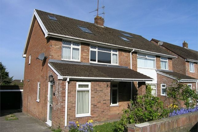 Thumbnail Semi-detached house to rent in Ogwen Drive, Cyncoed, Cardiff