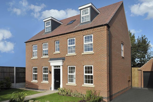 "Thumbnail Detached house for sale in ""Buckingham"" at Harbury Lane, Heathcote, Warwick"