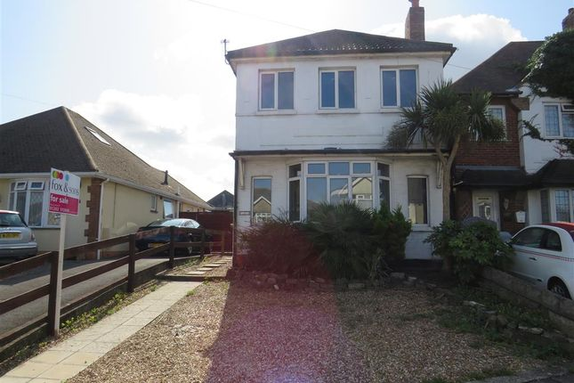 Thumbnail Detached house for sale in Wimborne Road, Winton, Bournemouth