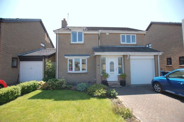 Thumbnail Detached house for sale in Eland Edge, Ponteland, Newcastle Upon Tyne