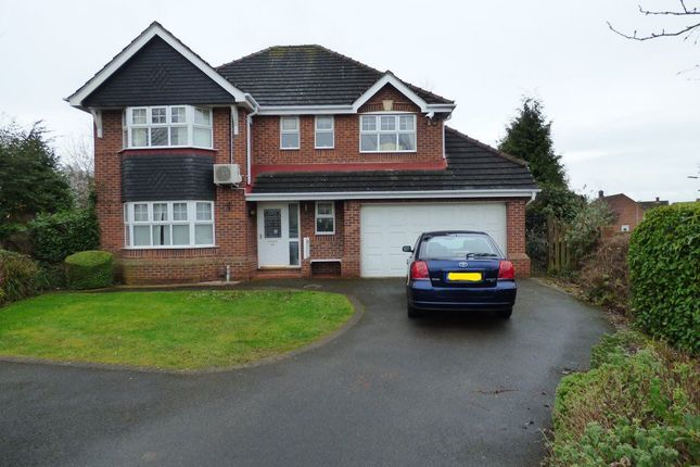 Thumbnail Detached house to rent in Parker Gardens, Stapleford, Nottingham