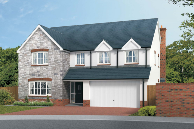 Thumbnail Detached house for sale in The Calmsden, Squires Meadow, Lea, Ross-On-Wye, Herefordshire