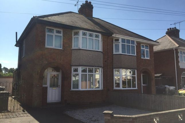 Thumbnail Town house to rent in Hillfield Road, Rugby