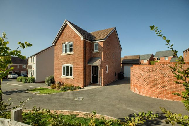 Thumbnail Detached house for sale in Duckett Place, Whitnash, Leamington Spa