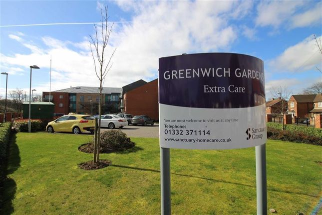 Flat for sale in Greenwich Gardens, 34 Greenwich Drive North, Mackworth, Derby