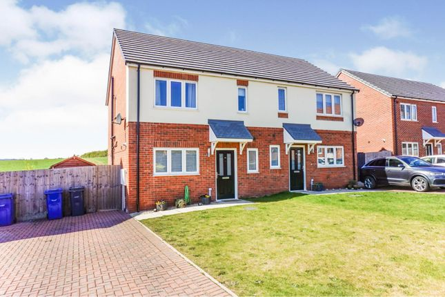 3 bed semi-detached house for sale in Kingfisher Close, Cherry Willingham, Lincoln LN3