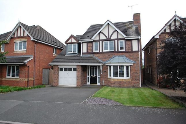 Thumbnail Detached house to rent in Bramling Cross Road, Burton Upon Trent, Staffordshire