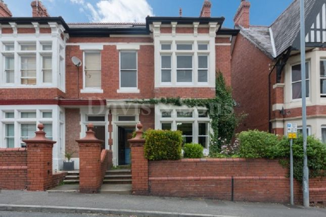 Thumbnail Semi-detached house for sale in Fields Park Road, Newport, Gwent.