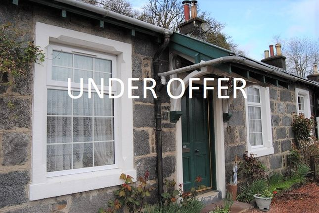 Thumbnail Terraced bungalow for sale in 3 Railway Cottages, Lochawe