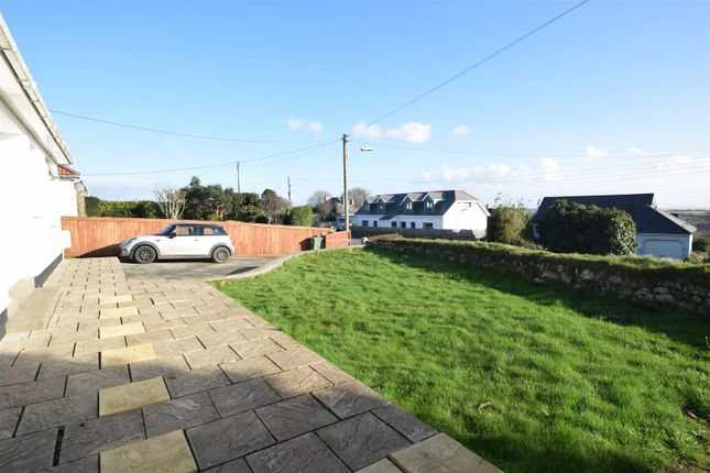Front Gardens of Church Road, Mabe Burnthouse, Penryn TR10