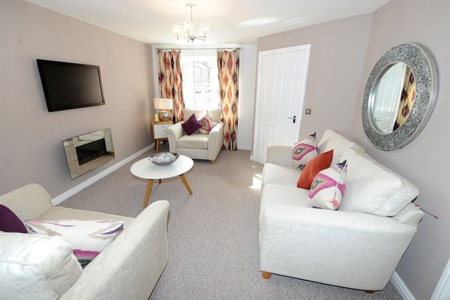 "3 bed end terrace house for sale in ""The Hanchurch"" at Chaffinch Manor, Broughton, Preston"