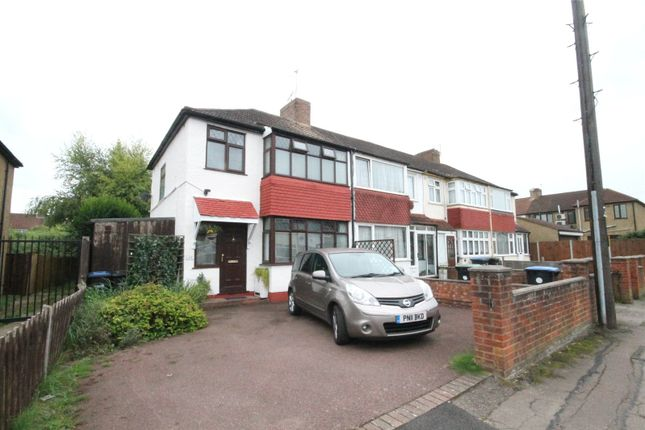 Thumbnail End terrace house for sale in Somerset Road, Enfield