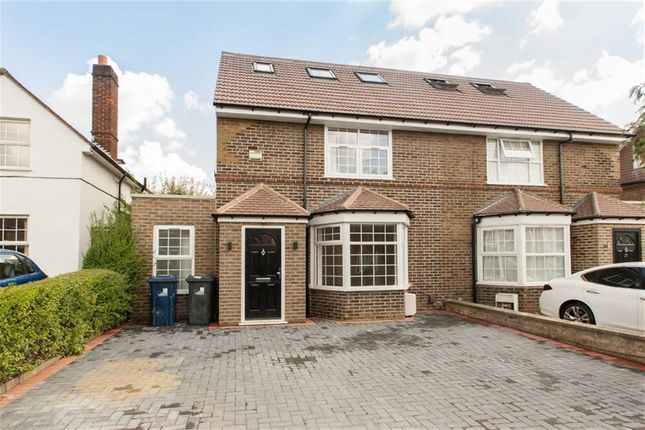 Thumbnail Semi-detached house to rent in Norman Way, London