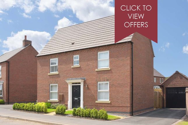 """Thumbnail Detached house for sale in """"Hadley"""" at Allendale Road, Loughborough"""