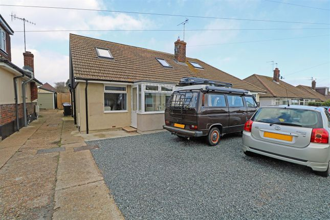 Thumbnail Semi-detached bungalow to rent in Gorringe Valley Road, Willingdon, Eastbourne