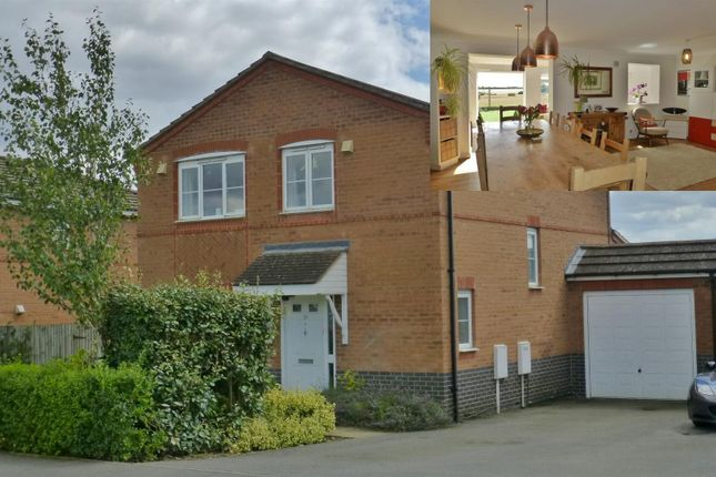 Thumbnail Detached house for sale in Harrier Close, Cottesmore, Oakham