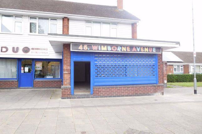 Retail premises to let in Wimborne Avenue, Stoke-On-Trent, Staffordshire