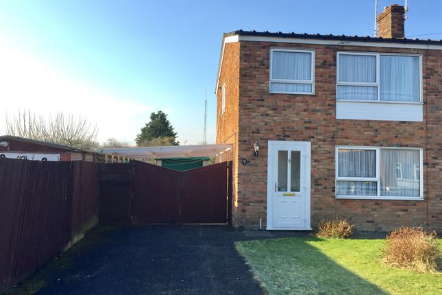 Thumbnail Semi-detached house for sale in Huntingdon Close, Totton, Southampton