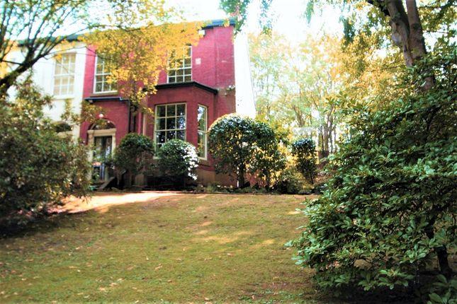 Thumbnail Semi-detached house for sale in Prestwich Park Road South, Prestwich, Manchester