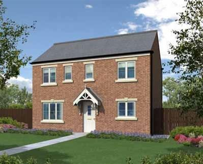 "Thumbnail Detached house for sale in ""The Clevedon"" at Elfin Way, Blyth"