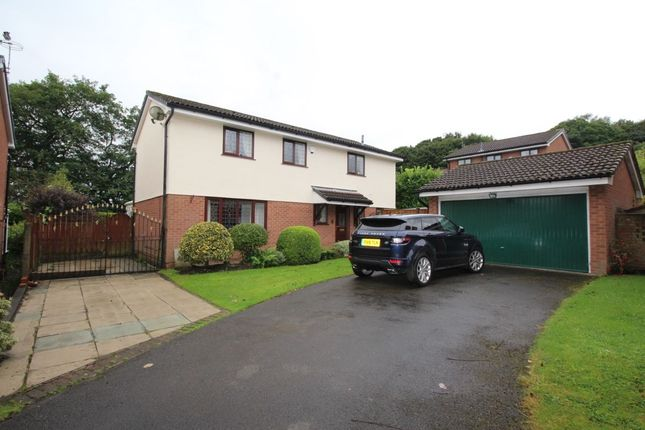 Thumbnail Detached house for sale in Wallbrook Avenue, Billinge, Wigan