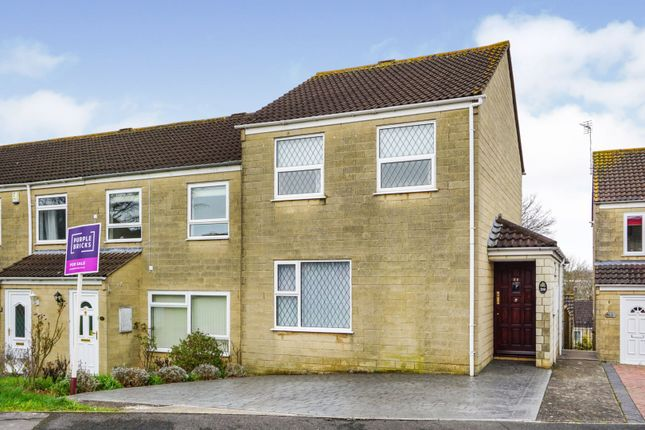 Thumbnail End terrace house for sale in Pennine Road, Oldland Common