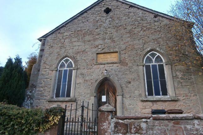 Thumbnail Industrial for sale in Former United Reformed Church, Upper School Road, Ruyton XI Towns, Shrewsbury