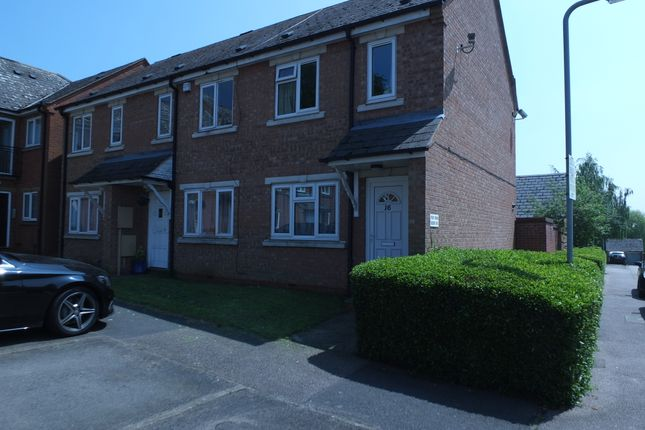 Thumbnail End terrace house to rent in Plough Close, Rothwell
