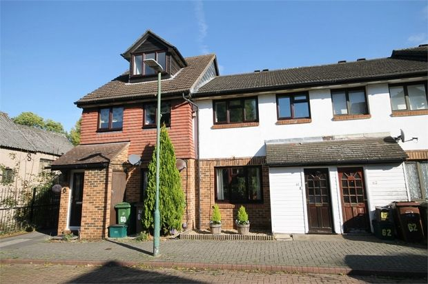 Thumbnail Terraced house for sale in Vellum Drive, Carshalton, Surrey