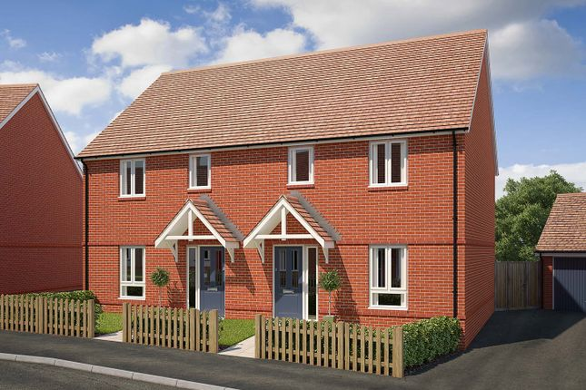 "Thumbnail End terrace house for sale in ""The Charkley"" at Saunders Way, Basingstoke"