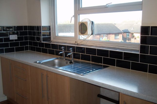 Thumbnail 2 bed flat to rent in Weaver Place, Newcastle Under Lyme