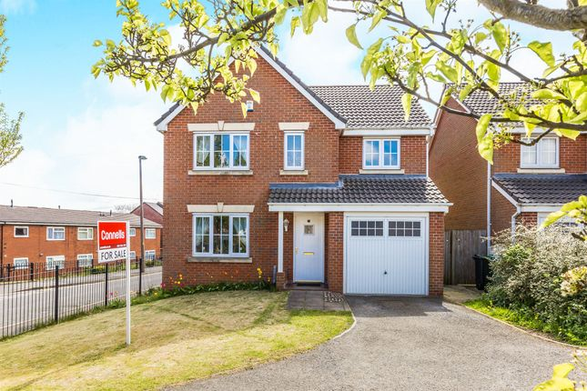 Thumbnail Detached house for sale in Siskin Close, Oldbury