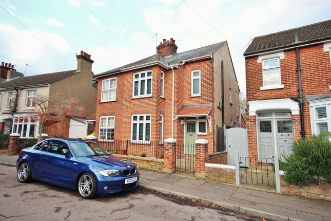 Thumbnail Semi-detached house for sale in Athelstan Road, Lexden, Colchester, Essex