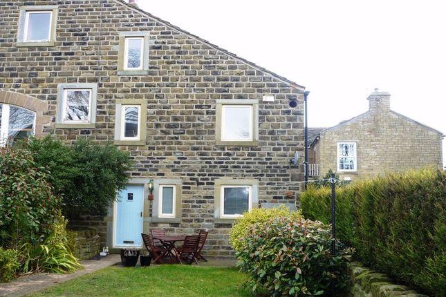 Thumbnail End terrace house to rent in Balk Lane, Upper Cumberworth, Huddersfield, Yorkshire
