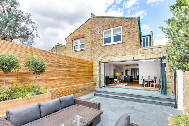 Thumbnail End terrace house for sale in Queensmill Road, London